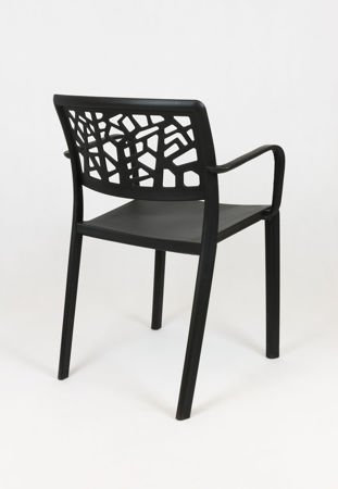 OUTLET SK Design KR046 Czarne Krzesło