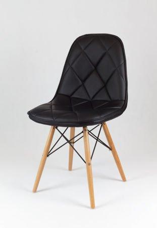 SK Design KS007 Czarne Krzesło