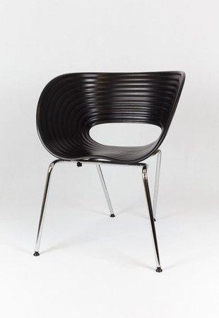SK Design KR011 Czarne Krzesło
