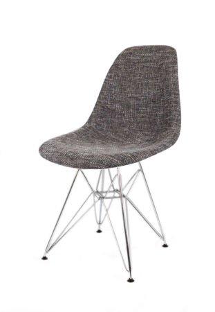 SK Design KR012 Tapicerowane Krzesło Lawa17, Chromowane nogi