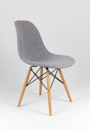 SK Design KR012 Tapicerowane Krzesło Muna08 Buk