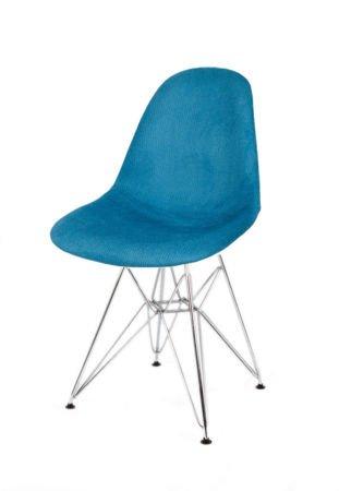 SK Design KR012 Tapicerowane Krzesło Pireus014 Chrom
