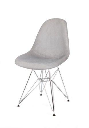 SK Design KR012 Tapicerowane Krzesło Pireus08 Chrom