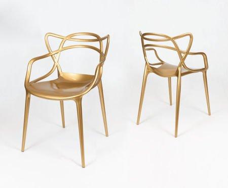 SK Design KR013 Złote Krzesło