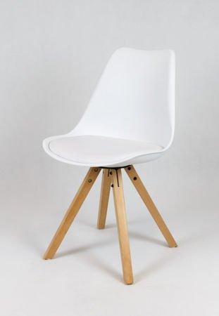SK Design KR020A Białe Krzesło