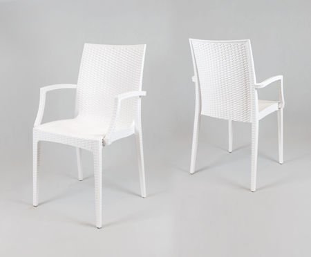 SK Design KR038 Białe Krzesło