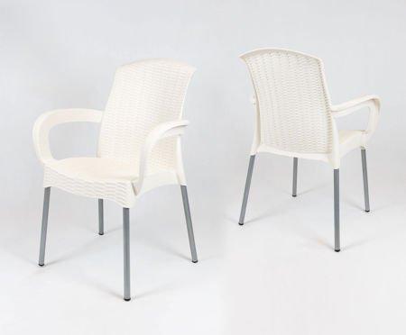 SK Design KR040 Kremowe Krzesło