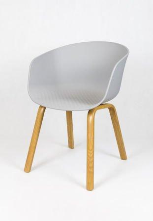 SK Design KR049 Szare Krzesło