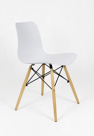 SK Design KR059 Białe Krzesło