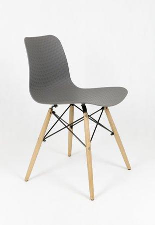 SK Design KR059 Szare Krzesło