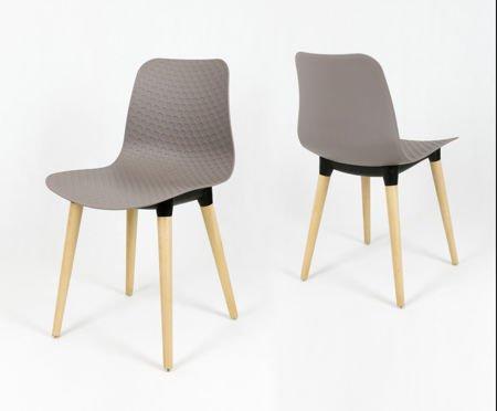 SK Design KR060 Krzesło Kawa z Mlekiem