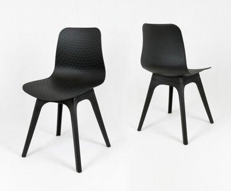 SK Design KR061 Czarne Krzesło