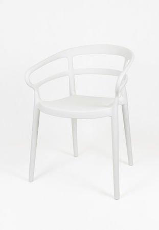 SK Design KR063 Białe Krzesło