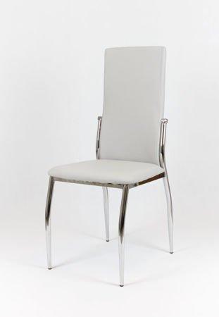 SK Design KS004 Jasnoszare Krzesło