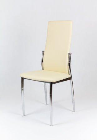SK Design KS004 Kremowe Krzesło