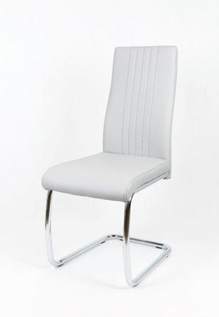 SK Design KS036 Jasnoszare Krzesło