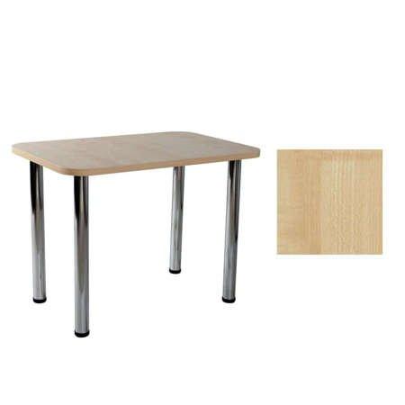 Stół Carlo 04 Klon 50x80x2,8