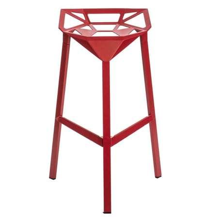 Stołek barowy Gap czerwony